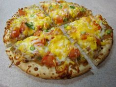 Vegetarian Tamale Pizza