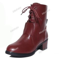 autumn Winter Women\'s Shoes Boots British Style Martin Boots