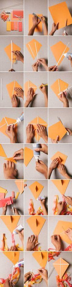 Paper Kite DIY | Oh Happy Day!