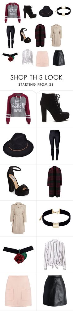 """My favourite clothes, shoes, etc"" by rospark05 on Polyvore featuring Steve Madden, Rochas, Balenciaga, Kenneth Jay Lane, Equipment, See by Chloé and Chicwish"
