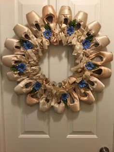 Idea for old pointe shoes... Not sure how it would smell though!