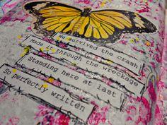 Saturday's Art Journaling – 04.07.12