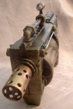 Die Steampunk-Nerferator. Von den großen Erfinder Professor Samuel L. Cobb, als Antwort auf die Anforderung der Regierungen für ein billiger Produktion seiner berühmten Defender Pistole entwickelt. Wegen des Krieges Materialien zur Zeit waren knapp und ein Serienmodell wurde nie gestartet. Aber unbeeindruckt durch den Mangel an Materialien, die der Professor vorgeschlagen, eine ältere veraltete Waffe, die Staub in seinem Lager und so sammeln war ändern, die inzwischen berühmten…