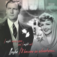 The Palm Beach Story ('42). Classic Movie Quotes, Turner Classic Movies, Vintage Movie Stars, Vintage Movies, Golden Age Of Hollywood, Vintage Hollywood, The Palm Beach Story, Mary Astor, Claudette Colbert