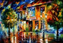 Time for Joy - LARGE SIZE Limited Edition High Quality Artistic Print on Cotton Canvas by Leonid Afremov