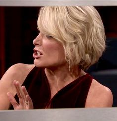 Megyn Kelly's new wavy bob hairstyle (on The Tonight Show with Jimmy Fallon)