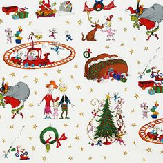 More Grinch fabric in my future!  (Dr. Seuss Enterprises - How the Grinch Stole Christmas 2 - Whoville in Holiday)