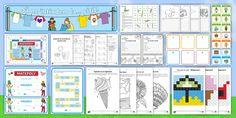 Descărcați acest pachet cu mostre  pentru a descoperi diversitatea și calitatea materialelor Twinkl. Pachetul conține 15 materiale potrivite pentru începutul anului școlar și, create pentru Ciclul Achizițiilor Fundamentale (CAF).