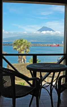A room with a view - Horta - Azores -PORTUGAL