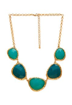 Ombre Faux Stone Necklace - Accessories - Necklaces - 1000067877 - Forever 21 UK