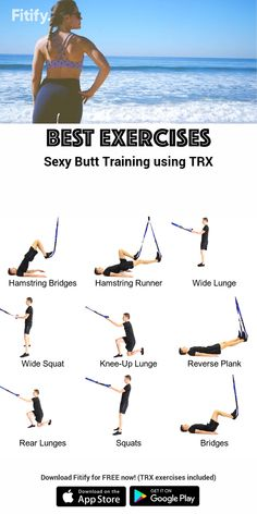 Exercises with a TRX Build Your Bum Within 30 Days.,dont believe me do this workout and find out Your Self.Build Your Bum Within 30 Days.,dont believe me do this workout and find out Your Self. Trx Workouts For Women, Best Workout For Women, Gym Workouts, At Home Workouts, Workout Exercises, Trx Ab Workout, Trx Back Exercises, Workout Trainer, Workout Women