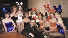 Hugh Hefner. Chicago Playboy Club 1960