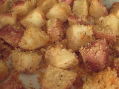 The On-Call Cook: Parmesan Roasted Red Potatoes