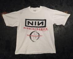 """Résultat de recherche d'images pour """"nine inch nails clothing"""" Nine Inch Nails, Clothing, Mens Tops, T Shirt, Black, Fashion, Outfits, Supreme T Shirt, Moda"""