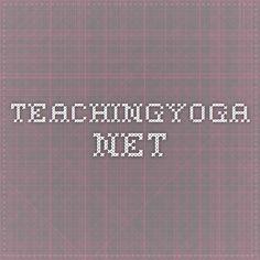 teachingyoga.net