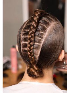 Braids, Runway, Behind The Scenes, Fashion Week, Brunette, How To Hair