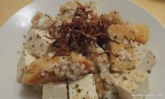 Braised Fish Fillet with Tofu Filling Food, Asian Recipes, Ethnic Recipes, Tofu, Healthy Eating, Fish, Homemade, Cooking, Eating Healthy