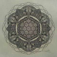 Mandala. Tattoo idea