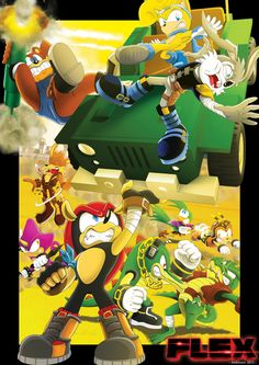 The chaotix are cool (MIGHTY AND RAY NEED TO COME BACK!!!!)