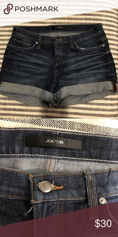 00c706e2c Joe's Jean shorts, size 28 Dark denim Jean shorts! Size 28. Gently worn,  great condition! Joe's Jeans Shorts Jean Shorts. True Religion Big Boys 8-20  Geno ...