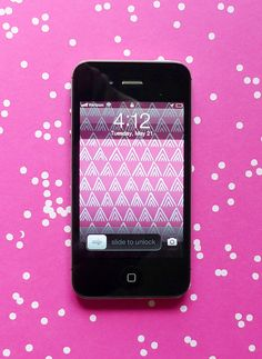 Free iPhone wallpaper from Cotton & Flax