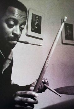 "Roy ""Snap Crackle"" Haynes - 1 of most recorded jazz drummers - plays swing, bop…"