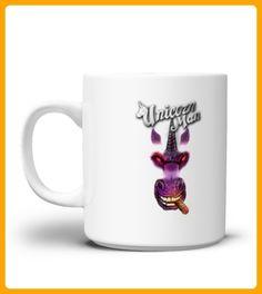 Smokin Unicorn Man Mug - Einhorn shirts (*Partner-Link)