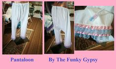 Gypsy / Hippie ADULT Pantaloons by TheFunkyGypsy on Etsy, $49.00