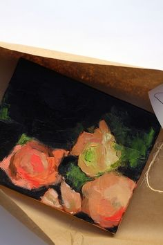 Lynne Millar painting