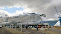 Anthem of the Seas Departure from Southampton