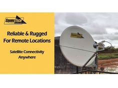 Reliable and rugged satellite internet connectivity services