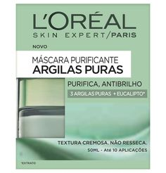 Amostras e Passatempos: AMOSTRAS de Máscara Argilas Puras by L'Oréal