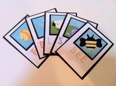 Flash cards made with My Quiet Book cartridge. Project by Courtney Lane Designs #cricut