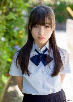 Imagen de beauty, girl, and student School Girl Japan, School Uniform Girls, Japan Girl, Beautiful Japanese Girl, Beautiful Asian Women, Cute Asian Girls, Cute Girls, Japanese School, Asia Girl