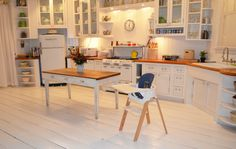 Stokke Steps All-in-One Bouncer + High Chair System via Project Nursery