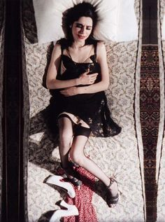 "PJ Harvey - video still from ""c'mon billy."" Love that song."