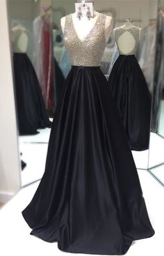 sparkly sequins prom dress, black long prom dress, 2018 long prom dress, prom dress with open back