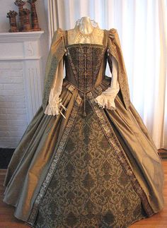Circa 1550 inspired gown.