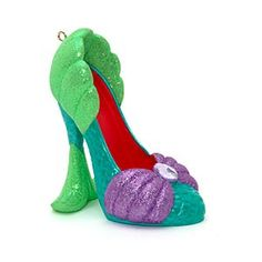 Disney The Little Mermaid Miniature Decorative Shoe | Disney StoreFree Shipping - This dazzling Little Mermaid Miniature Decorative Shoe will make a perfect gift. Our ornamental shoe collection captures the magical spirit of Disney in each of its character-based designs.
