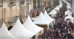 Roasted chestnuts and other specialties of Piedmont in the Italian town Cuneo