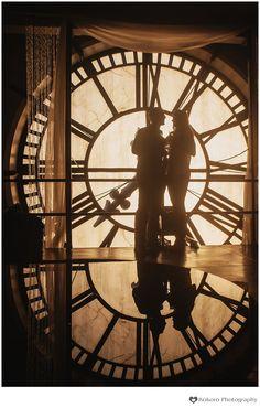 Secret Clock Tower Proposal and Engagement Pictures | Denver, CO | www.kokorophotography.com