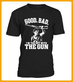 Good Bad Im The Guy Mith The Gun - Shirts für onkel (*Partner-Link)