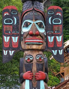 Northwest Native American Totem Poles | Recent Photos The Commons Getty Collection Galleries World Map App ...