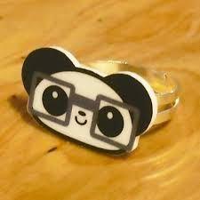 Panda NERD Ring