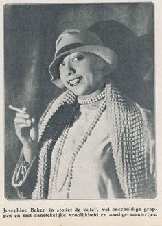 But Josephine Baker is a gorgeous African American performer you may not have heard.