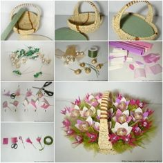 DIY Candy Bouquet Basket thumb