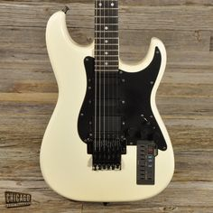 Casio PG-380 Synth Guitar White 1988-89 (s893)