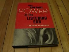 The Awesome Power of the #ListeningEar #Hardcover #Book By #JOHNDRAKEFORD #Ebay #Nonfiction