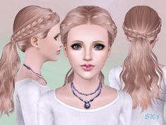 female adlut hair  Found in TSR Category 'Female Sims 3 Hairstyles'