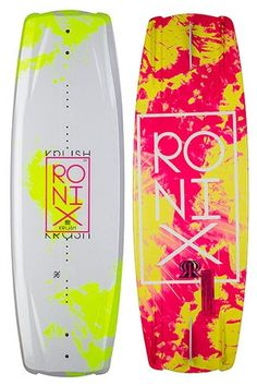 Wakeboarding is the only board sport where your shoulders and hips are not always parallel with each other - and the Krush takes this into consideration. A lighter glass layup version of our Vault ser